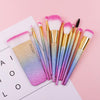 Image of 11-Piece Rainbow Makeup Brush Set