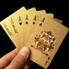 Image of 24K Gold Foil Playing Cards