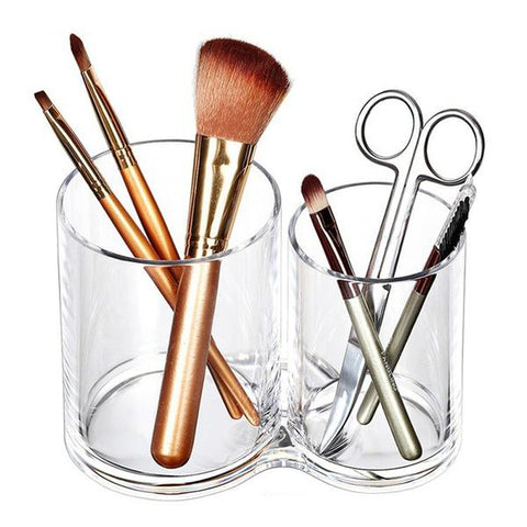Acrylic Makeup Brush Holder