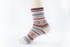 Image of 5 Pairs Thick Knitted Cashmere Socks