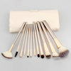 Image of 18 / 12-Piece Professional Makeup Brush Set with Bag