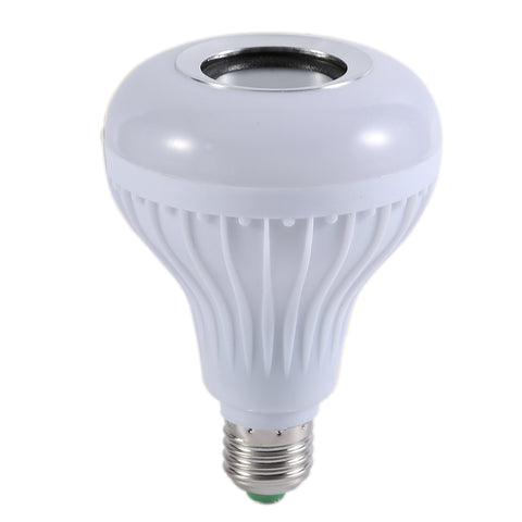 Wireless Bluetooth LED Light Bulb & Speaker with Remote Control