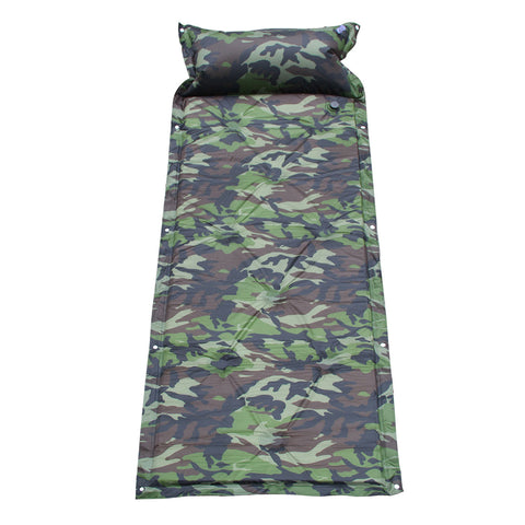 Self Inflating Camping Mat Sleeping Bag with Pillow