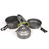 Image of Portable Outdoor Aluminum Alloy Cookware Pans and Kettle