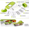 Image of Multifunction Vegetable Cutter with 5 Interchangeable Stainless Steel Blades
