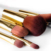 Image of 15-Piece White Makeup Brush Set