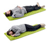 Image of Portable Inflatable Sleeping Mat Horizontal Tube Design