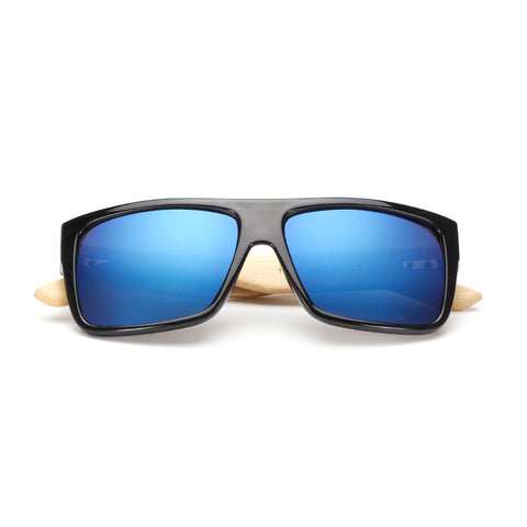 Natural Bamboo Wood Sunglasses for Men and Women