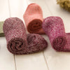 Image of Short Knitted Cashmere Socks for Women