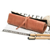 Image of Retro Faux Leather Pencil or Makeup Bag