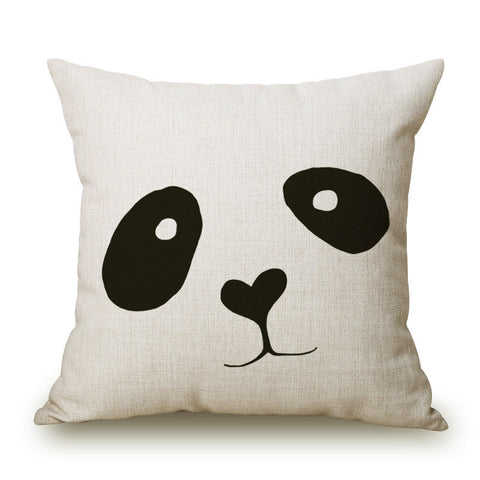Modern Printed Throw Pillow Cushion Case