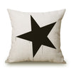 Image of Modern Printed Throw Pillow Cushion Case