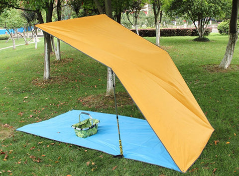 Ultralight Sun Shelter with Camping Mat