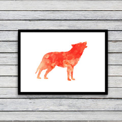Vintage Fox Canvas Wall Art