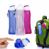 Image of 500 ml Foldable Silicone Water Bottle
