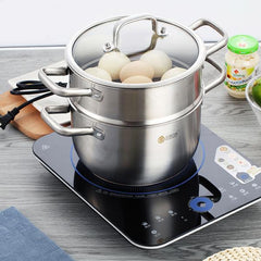 Non-stick Stainless Steel Induction Cooker Cookware Set