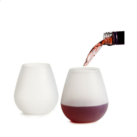 Wine Beer Cups Foldable Silicone