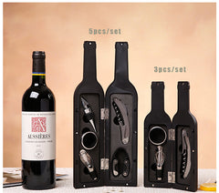 Wine Bottle Shaped Gift Set