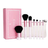 Image of 7-Piece Mermaid Makeup Brush Set with Bag