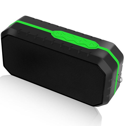 Waterproof Bluetooth Speaker Wireless Speaker Green
