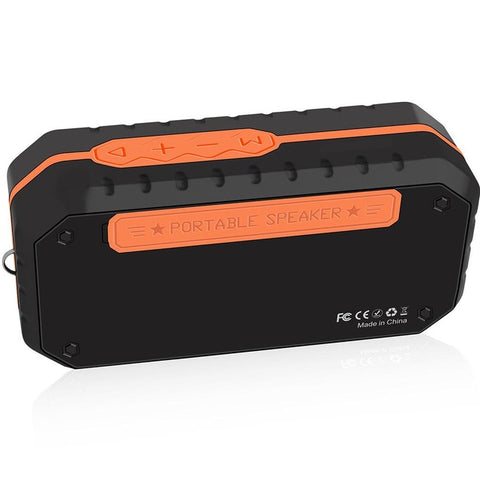 Waterproof Bluetooth Speaker Wireless Speaker Orange