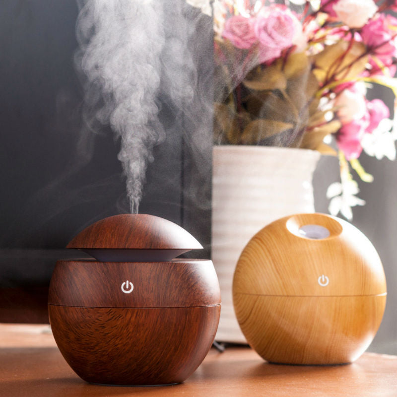 Mini Wooden Air Humidifiers