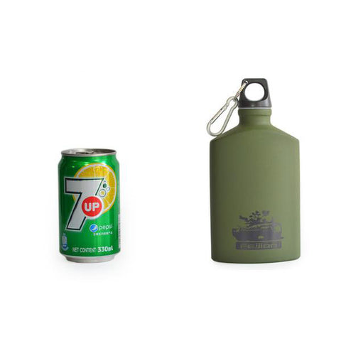 Military Aluminum Leak-proof Hip Flask