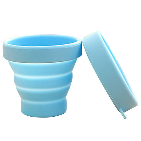 Foldable Shatterproof Silicone Cups