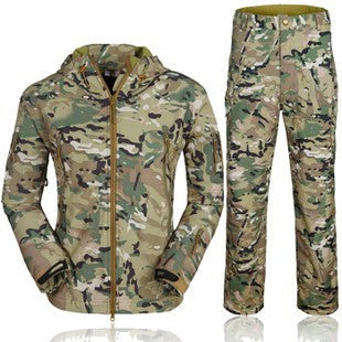 Softshell Tactical Jacket and Pants Set