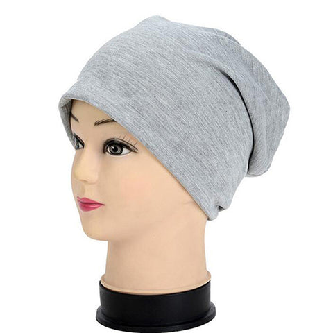 2 in 1 Soft Knitted Winter Beanies