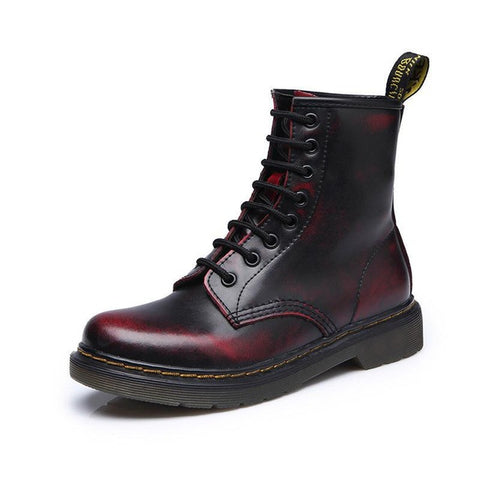 Leather Ankle Winter Boots for Men