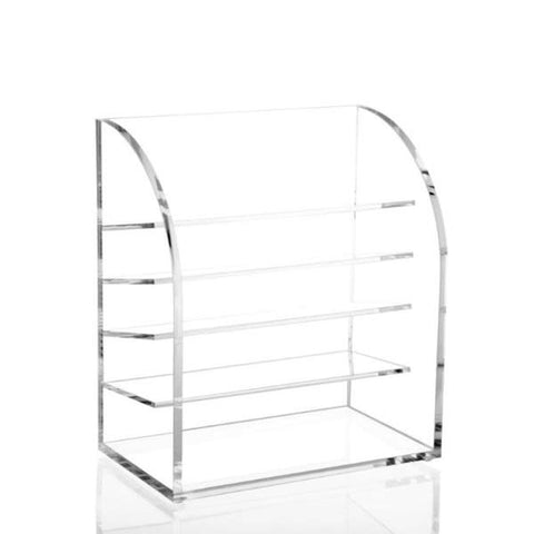 Layered Acrylic Makeup Organizer