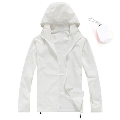 Lightweight Sunscreen Camping Jacket with Carry Bag