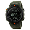 Image of Waterproof Compass Digital Wrist Watch
