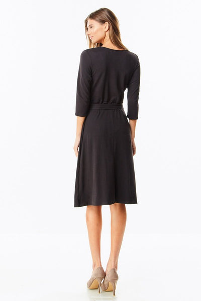 Little Black Dress Must-Have Faux Wrap