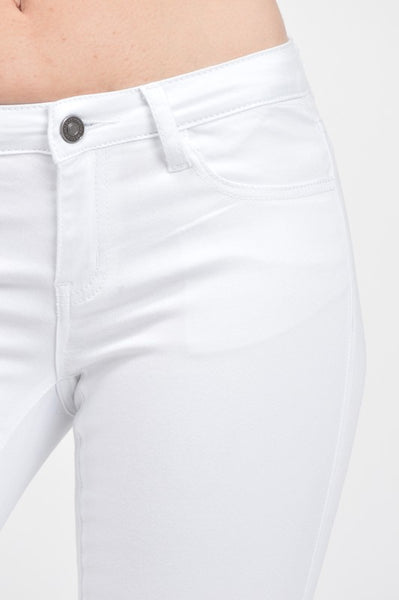 KanCan White Stretch Lightweight Jeans Pants