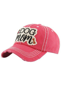 Dog Mom Vintage Baseball Cap