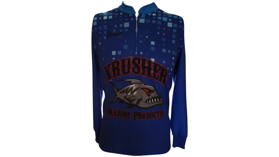 Women`s pro fishing jersey