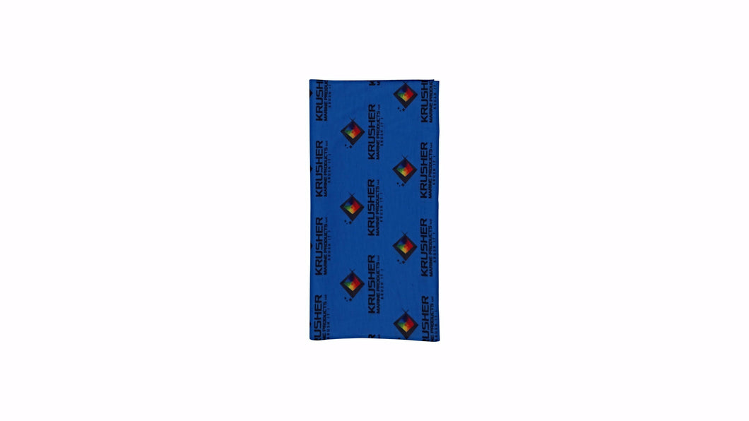 Krusher Korp Neck Gaiter - Blue - Krusher Marine Products