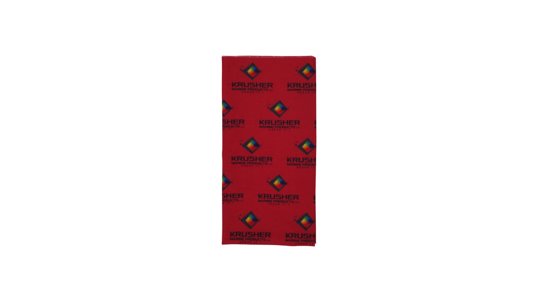 Krusher Korp Neck Gaiter -Raspberry - Krusher Marine Products