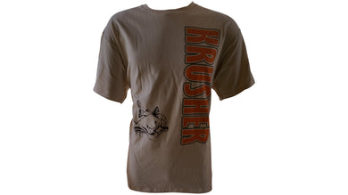 Mens Krusher 936 CatFish TEE- Sand - Krusher Marine Products
