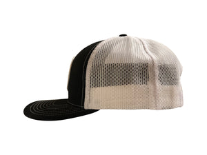 Survivor Black/White Snap back Baseball Cap - Krusher Marine Products