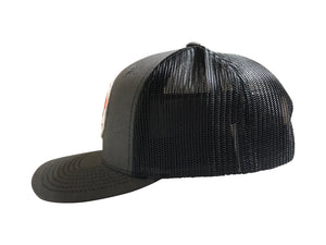 Survivor Gray/Black Snap back Baseball cap - Krusher Marine Products