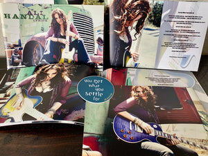 """That's What She Said"" CD + Photo/Lyric Book"