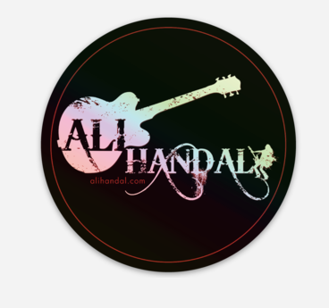 Holographic Ali Logo Stickers ~ 2 Stickers