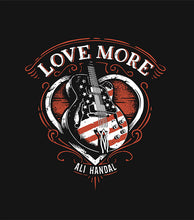 """Love More"" T-Shirt - Unisex, Black"
