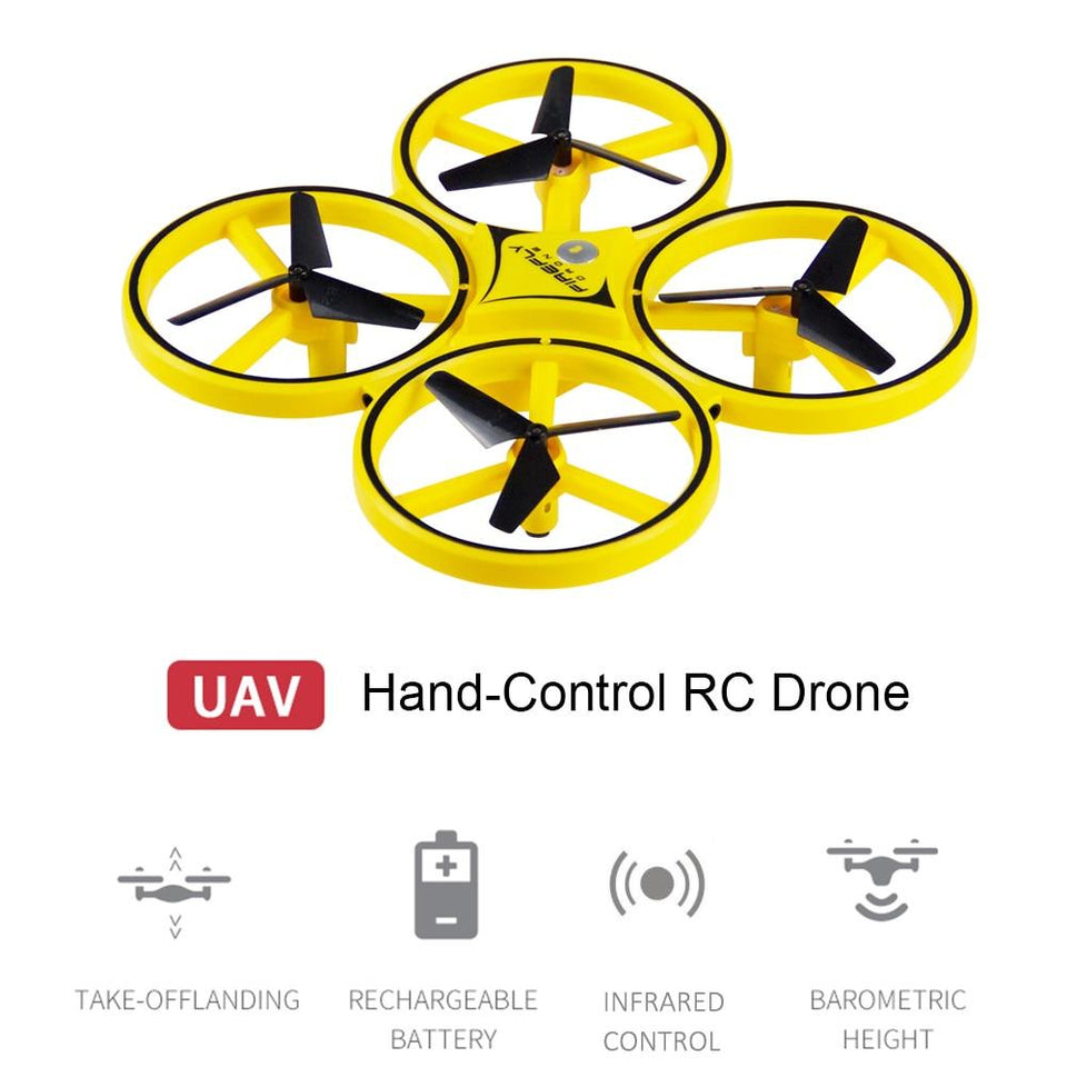 Drone Gravity Gesture Control™
