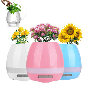 Vase enceinte bluetooth  LED