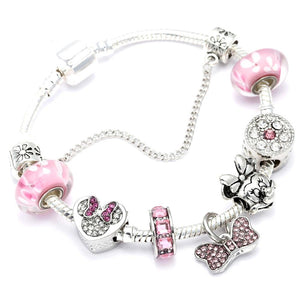 Bracelet Minnie fait main