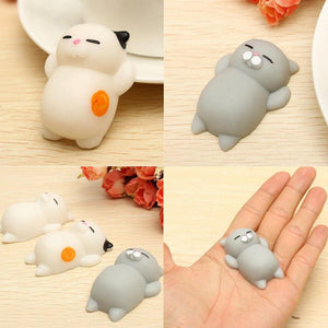 "Chat Moelleux ""Squishy"" Anti Stress"